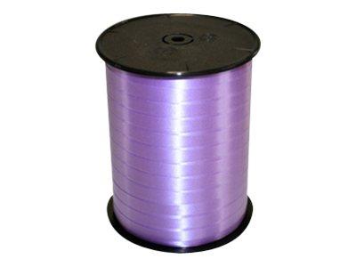 Maildor - Bolduc lisse - ruban d'emballage 7 mm x 500 m - lilas
