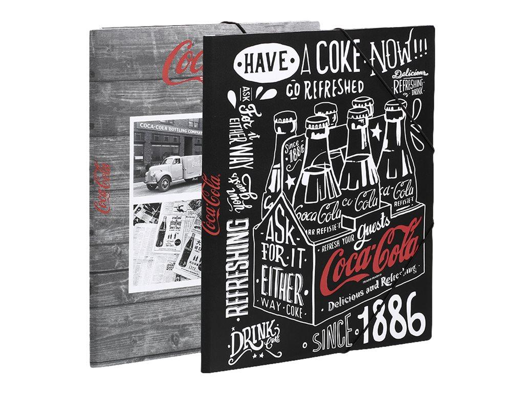 Viquel Coca-Cola - Chemise à rabats - A4 - disponible dans différents modèles