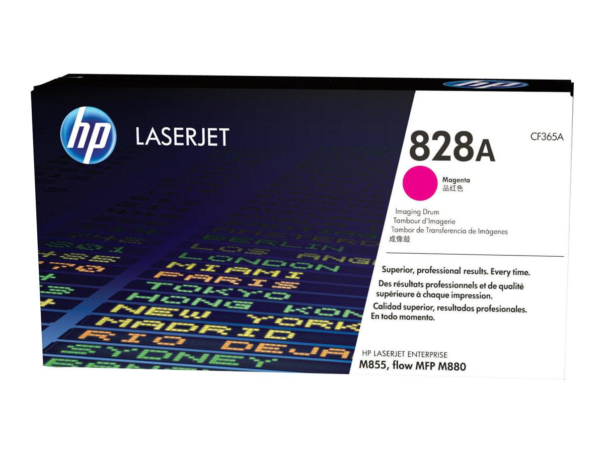 HP 828A - magenta - toner LaserJet d'origine - kit tambour