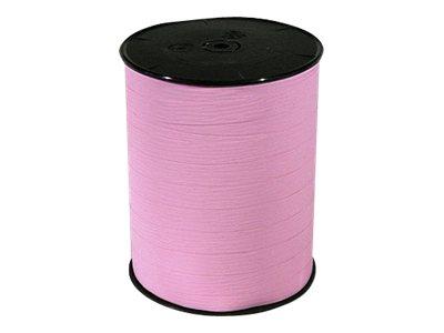 Maildor - Bolduc mat - ruban d'emballage 10 mm x 250 m - rose