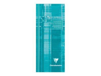 Clairefontaine - Carnet de bord enseignant - 8.5 x 20 cm - 120 pages - disponible dans différentes couleurs