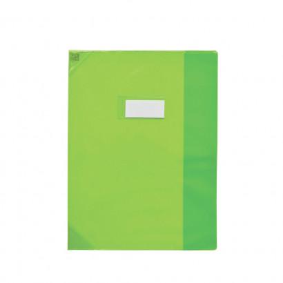 Oxford Strong Line - Protège cahier sans rabat - A4 (21x29,7 cm) - vert translucide