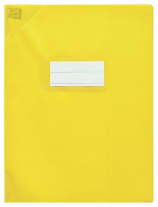 Oxford Strong Line - Protège cahier sans rabat - A4 (21x29,7 cm) - jaune opaque