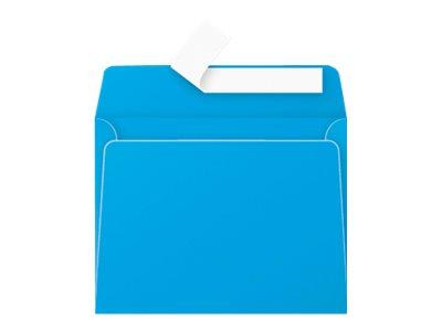 Pollen - 20 Enveloppes - 90 x 140 mm - 120 g/m² - turquoise